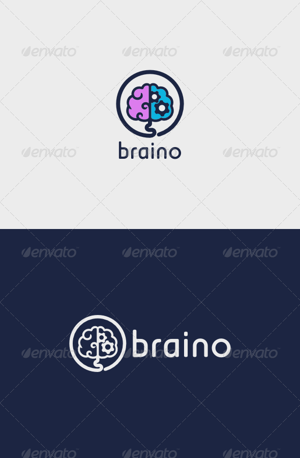 Braino Logo - Objects Logo Templates