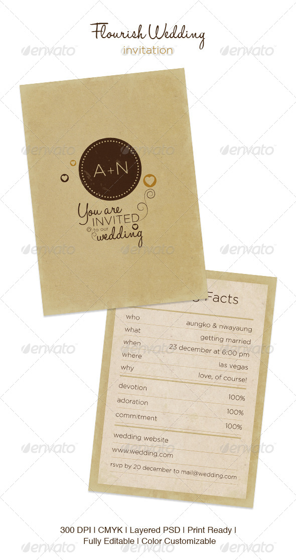 GraphicRiver Flourish Wedding 5024018