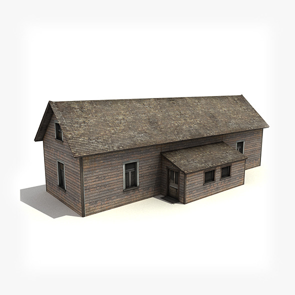 3DOcean Old Wooden House 5078191