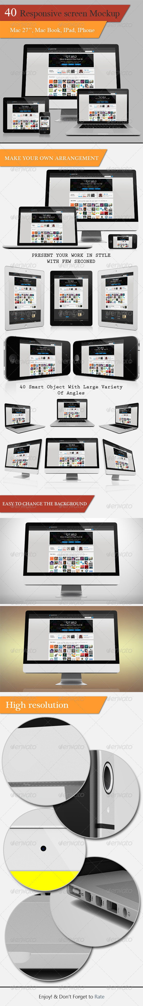 GraphicRiver Responsive Screen Mock-ups 5068557