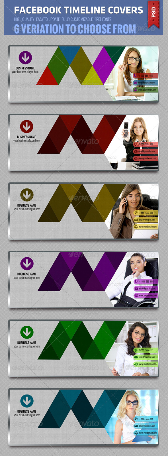 GraphicRiver Facebook Timeline Cover V1 5078400