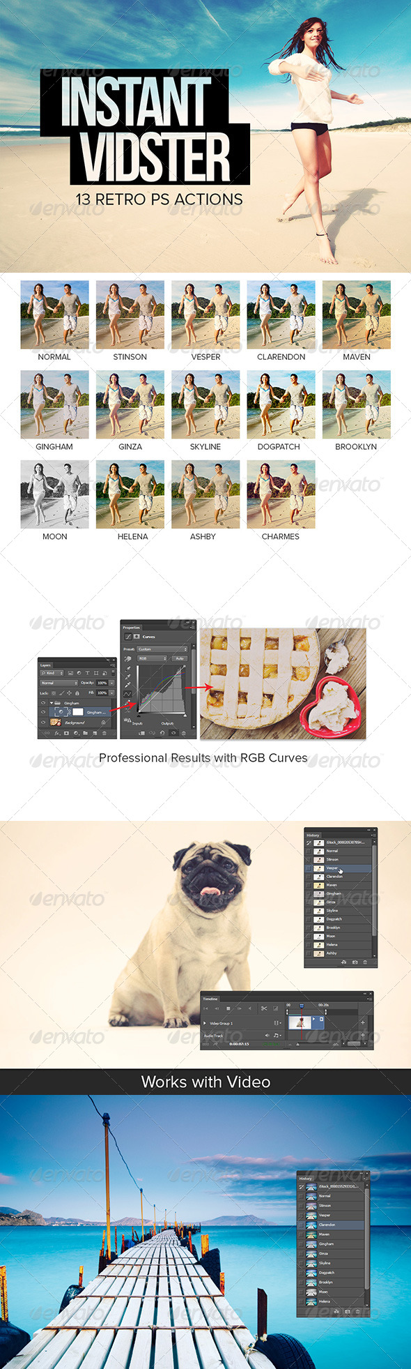 GraphicRiver Instant Vidster 13 Retro Effects 5047749