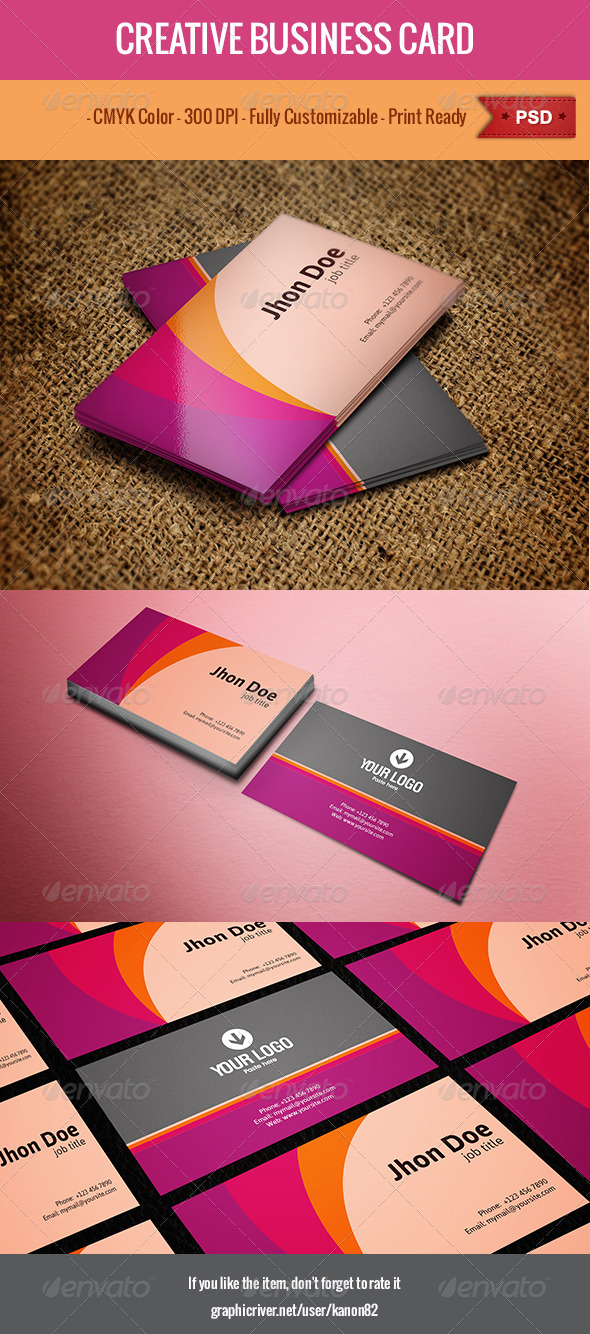GraphicRiver Creative Business Card 5013158