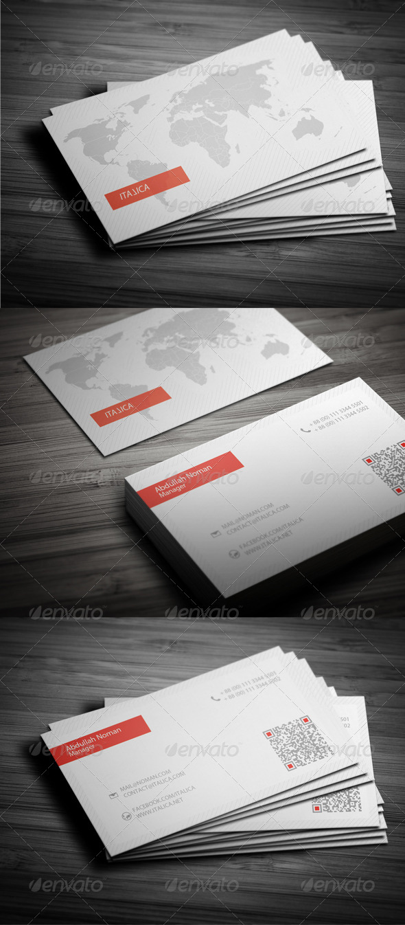 GraphicRiver Corporate Business Card 02 5078710
