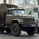 Russian Military Truck Slow Start
