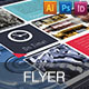 Corporate Flyer - Machine Informations V01 - GraphicRiver Item for Sale