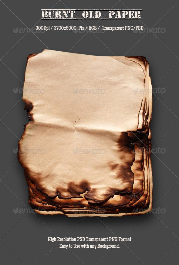 Burnt Old Paper 11
