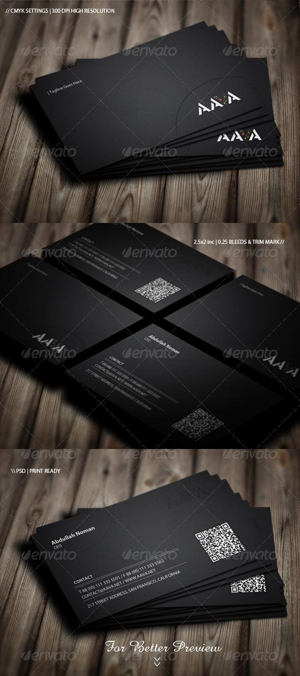 GraphicRiver Premium Business Card Design 5016407