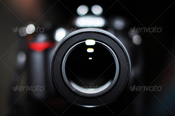 Digital Photo Camera Closeup - Stock Photo - Images