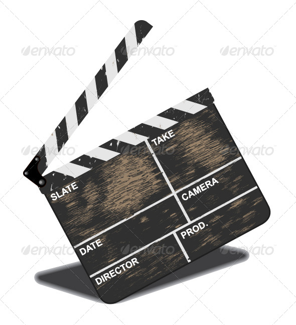GraphicRiver Old Clapperboard 5078886