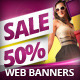 Multipurpose Sale Banners PSD Template - GraphicRiver Item for Sale