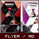 Multipurpose Corporate Flyer - Triangle Marketing - GraphicRiver Item for Sale