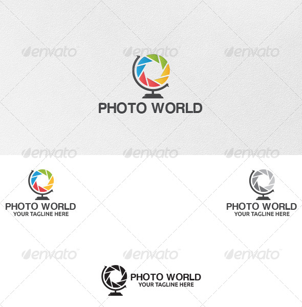 GraphicRiver Photo World Logo Template 5079252