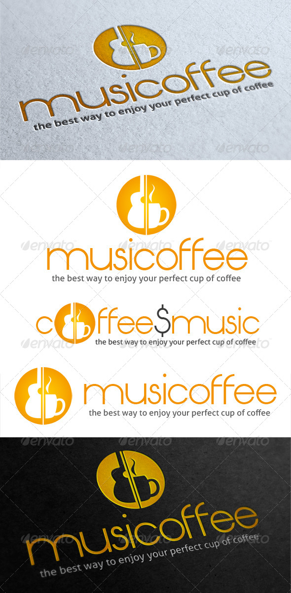 GraphicRiver Musicoffee Logo 5052999