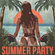 Summer Beach Party Flyer / Poster - GraphicRiver Item for Sale