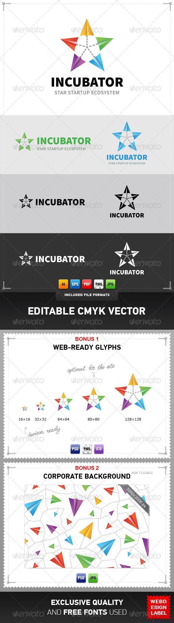 GraphicRiver Incubator Logo 5080001