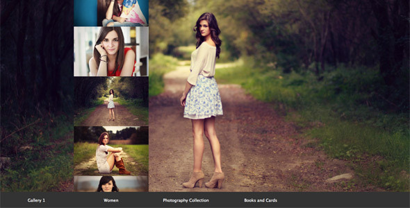 jQuery Fullscreen Scroll Gallery
