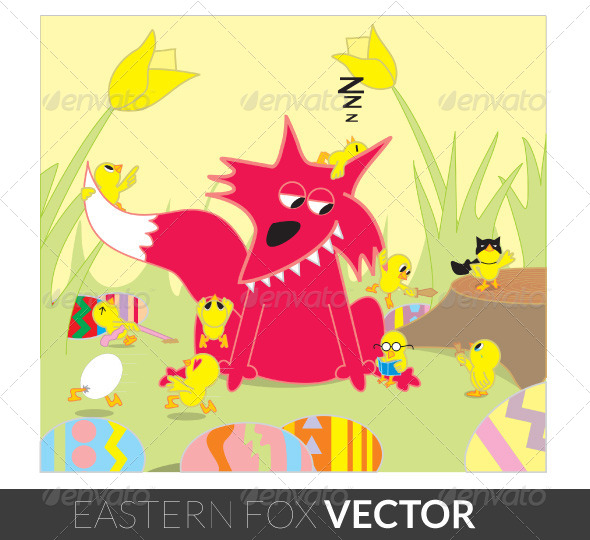 GraphicRiver Eastern Fox 5080231
