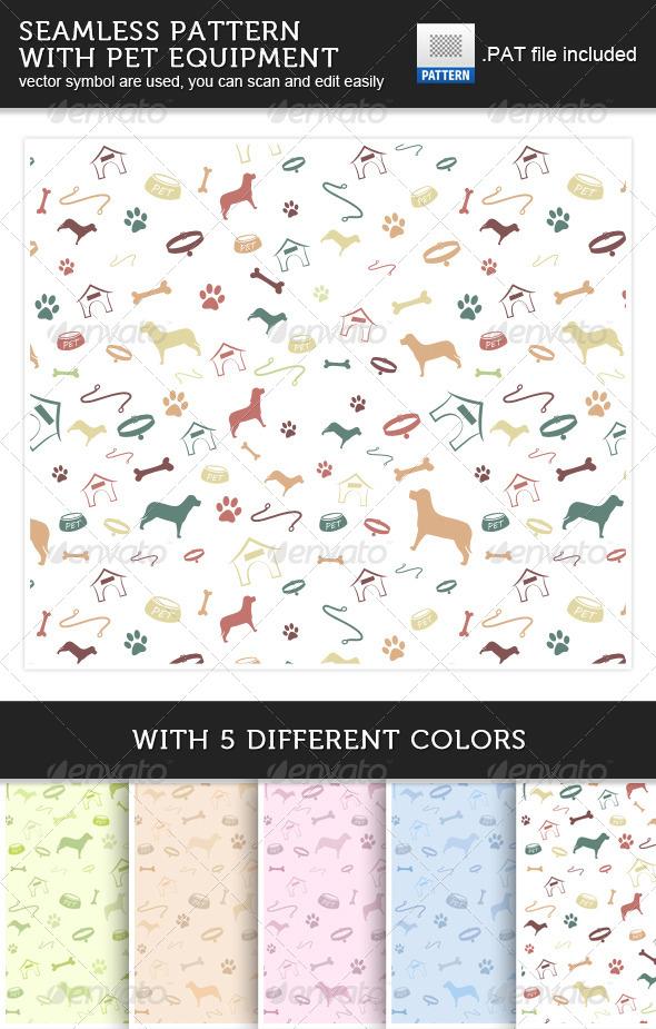GraphicRiver Pet Patterns 5080720
