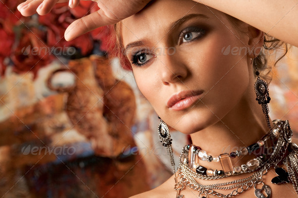 Glamorous. - Stock Photo - Images