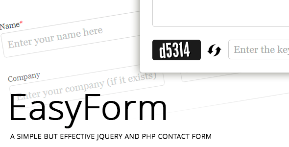 CodeCanyon jQuery and PHP powered Easy Form 5081183
