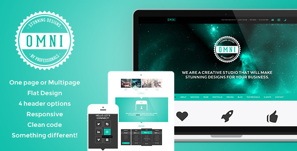 ThemeForest Omni Responsive One Multi Page HTML5 Parallax 5082172