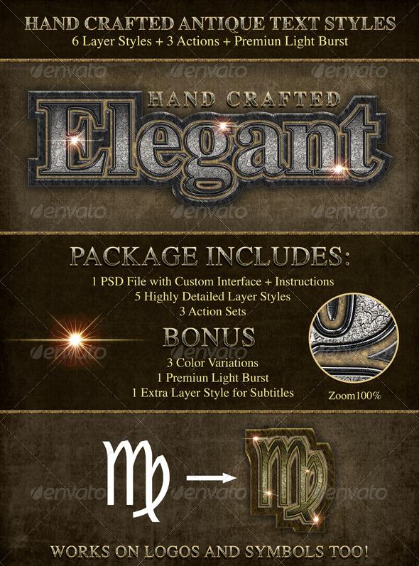 GraphicRiver Elegant Antique Styles 5082215