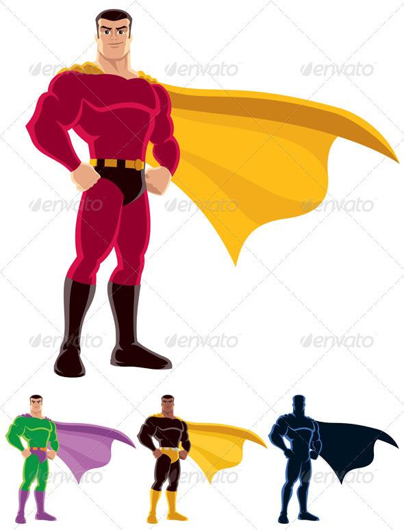 GraphicRiver Superhero 521903
