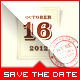 Love Film - Wedding Save the Date Template
