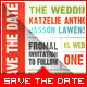 Wedding - Save The Date - Ticket