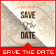 Wedding - 'Save the Date' - Romantic - GraphicRiver Item for Sale