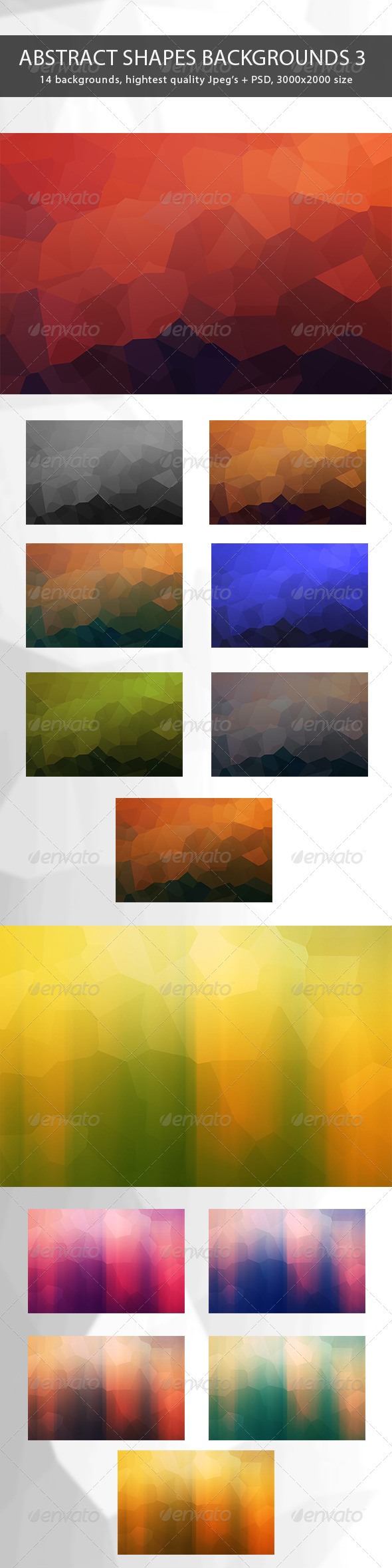 Abstract Shapes Backgrounds 3 - Abstract Backgrounds