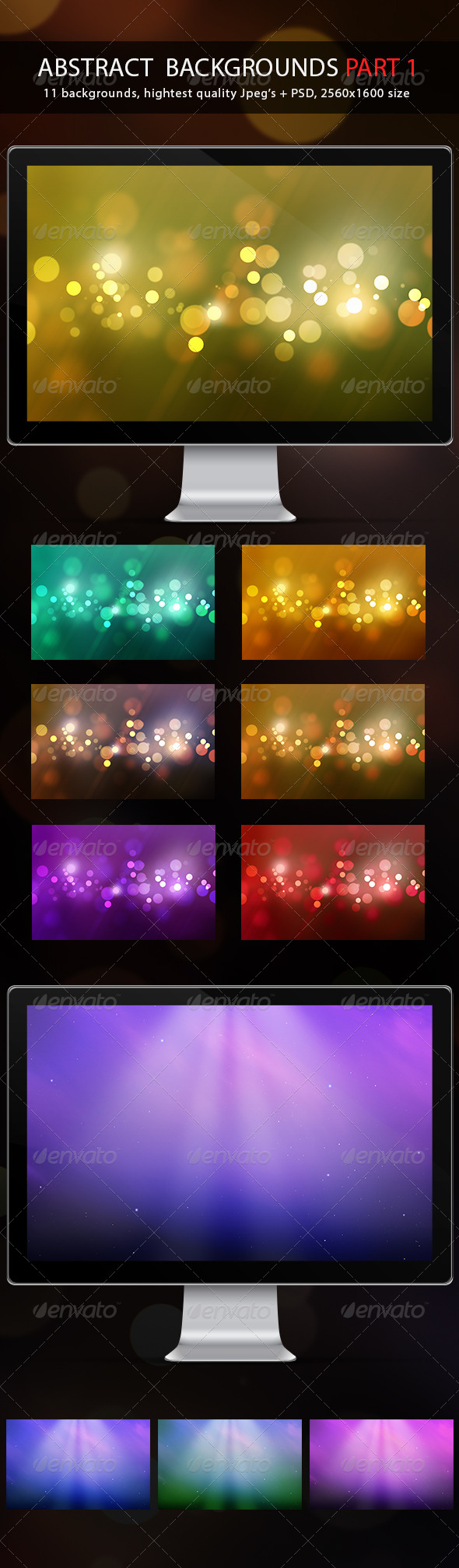 GraphicRiver Abstract Backgrounds Part 1 5082606