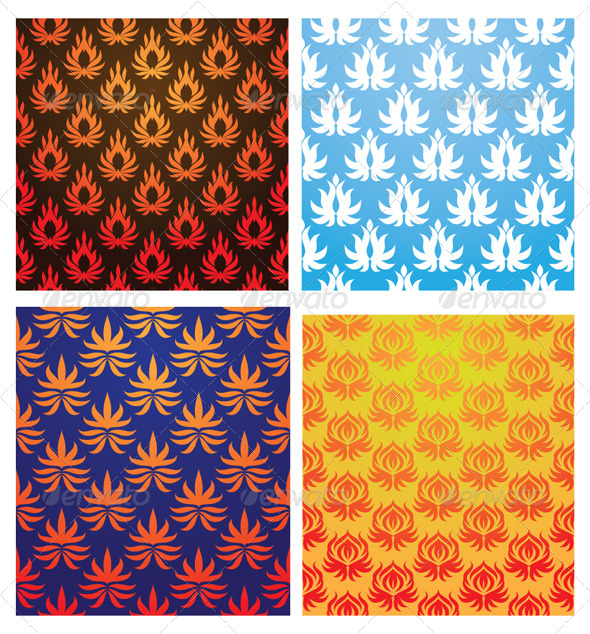GraphicRiver Fire Pattern 5082685
