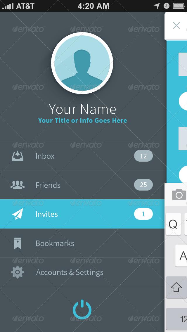 FlatApp Mobile Phone App - Bootstrap - GraphicRiver Previewer: graphicriver.net/theme_previews/5063659-flatapp-mobile-phone-app...
