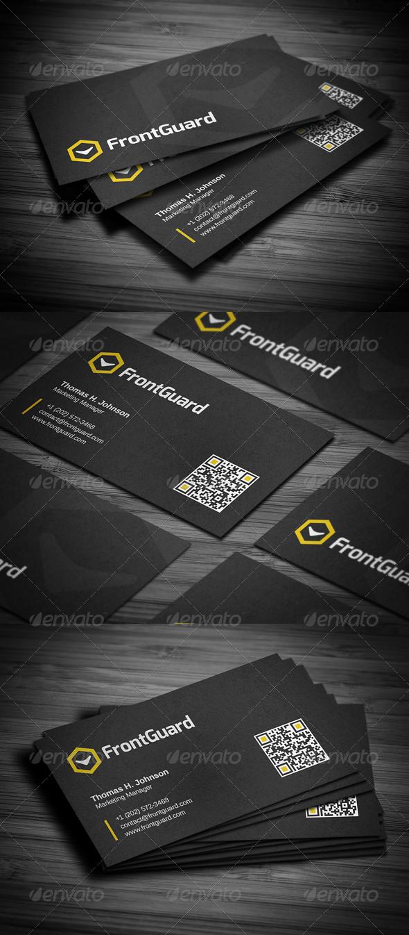 GraphicRiver Creative Corporate Business Card 5082767
