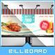 Yummy Tasting - Restaurant Menu Tri-Fold Brochure