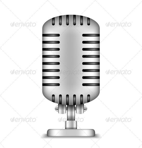 GraphicRiver Microphone 5082881