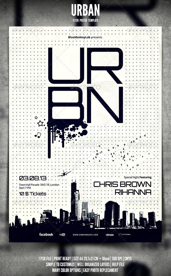 Urban Flyer / Poster