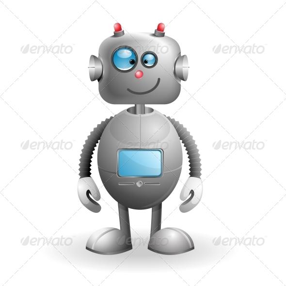 GraphicRiver Cartoon Robot 5083533