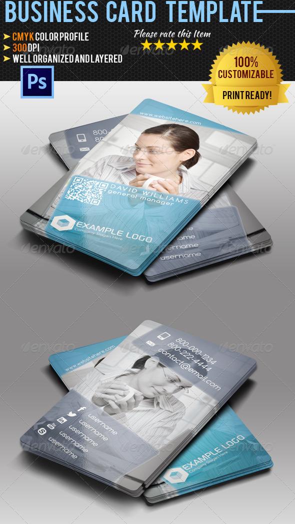 GraphicRiver Multipurpose Business Card Vol.4 4836947