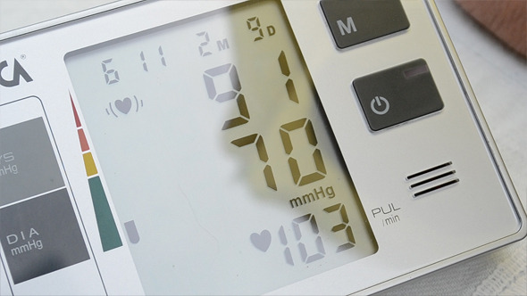 Blood Pressure Electronic Device