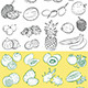 Tropical Fruits Vector - GraphicRiver Item for Sale