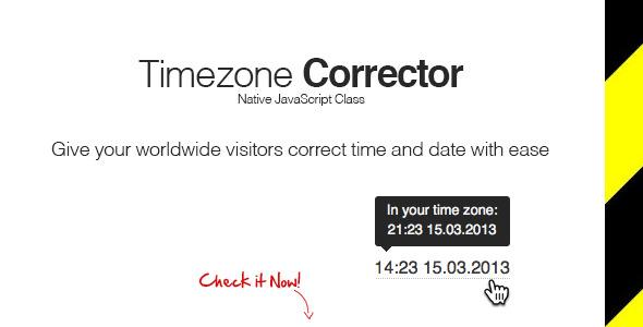 CodeCanyon TimeZone Corrector 5084096