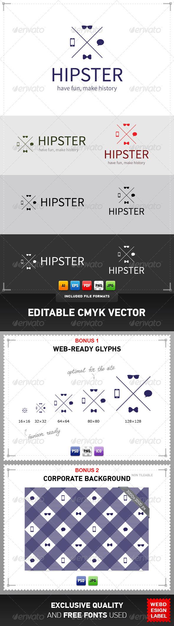 GraphicRiver Hipster Logo 5084114