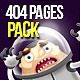 404 Pages Pack - GraphicRiver Item for Sale