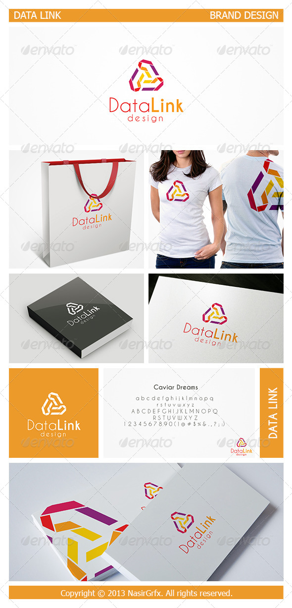 GraphicRiver Vector Link Logo 5084567
