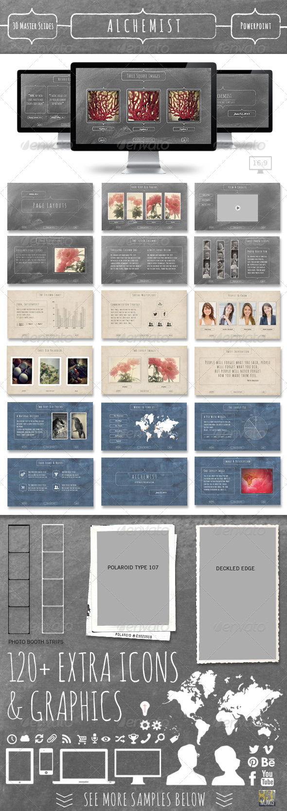 Alchemist Powerpoint Template - Presentation Templates