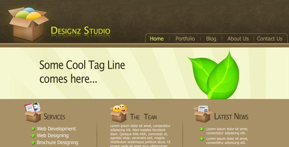 Designz Studio Template - Portfolio Creative
