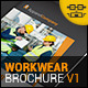 Workwear Catalogue/Brochure V1 - GraphicRiver Item for Sale